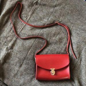 Cambridge Satchel Leather mini crossbody bag